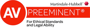 Martindale Hubberl AV Rated Lawyer